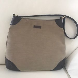 Gucci Bag Purse Authentic Tan and Brown